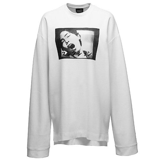 LS Graphic Crew Neck T-Shirt