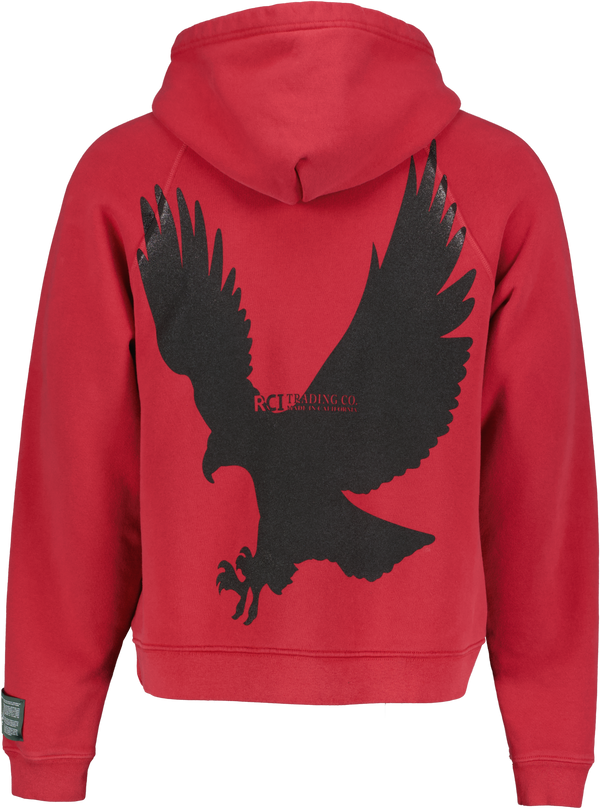 Eagle Of A Different Feather Hooded Sweatshirt