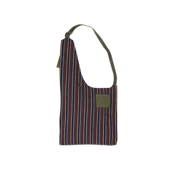 Embroidered Mil Yard Monk Bag