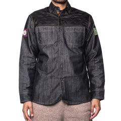 Patch Denim Overshirt