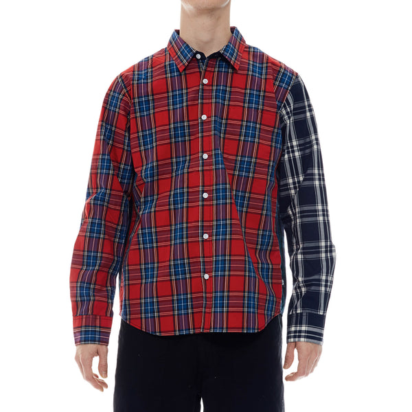 Mixed Plaid L/S Shirt
