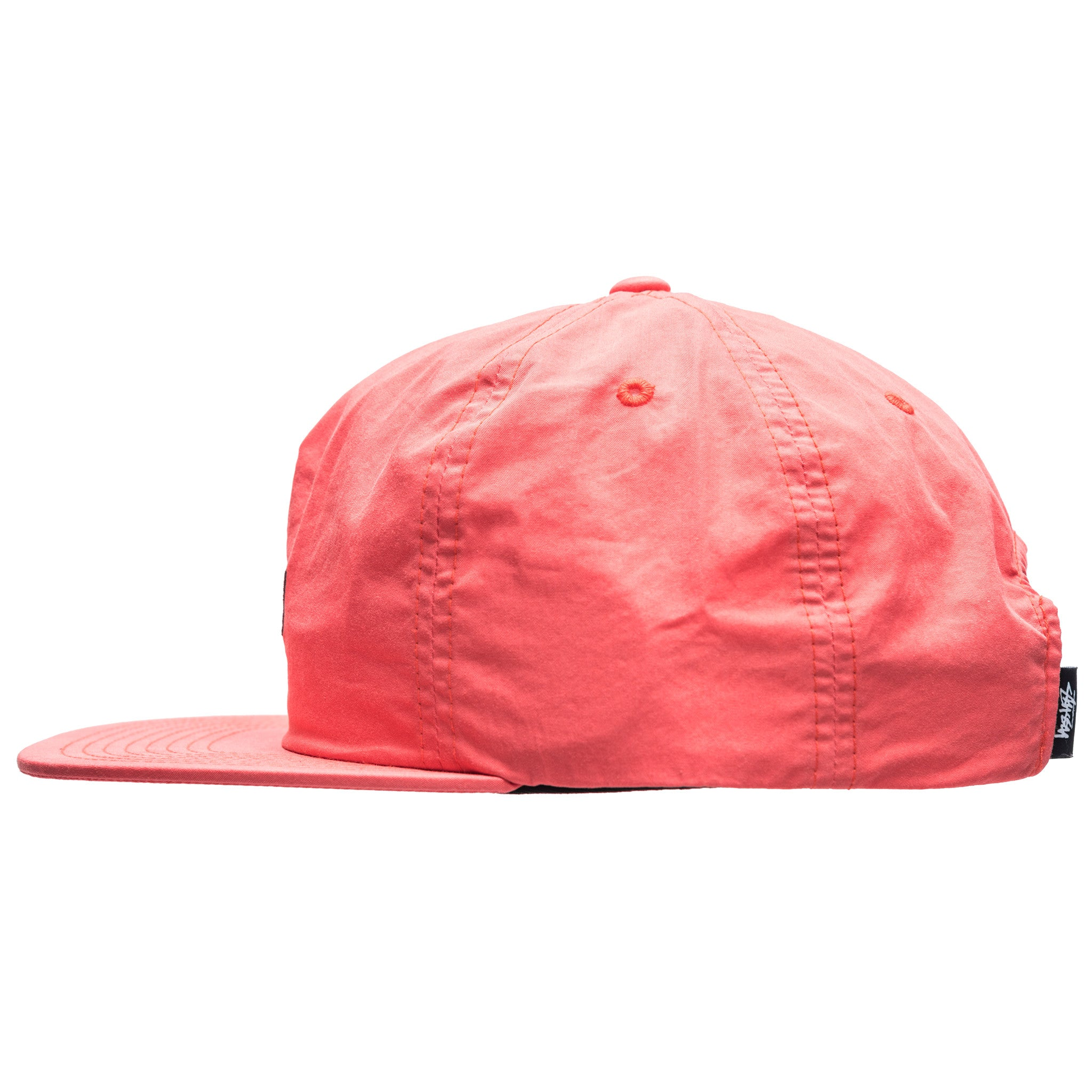 Washed Nylon Strapback Cap