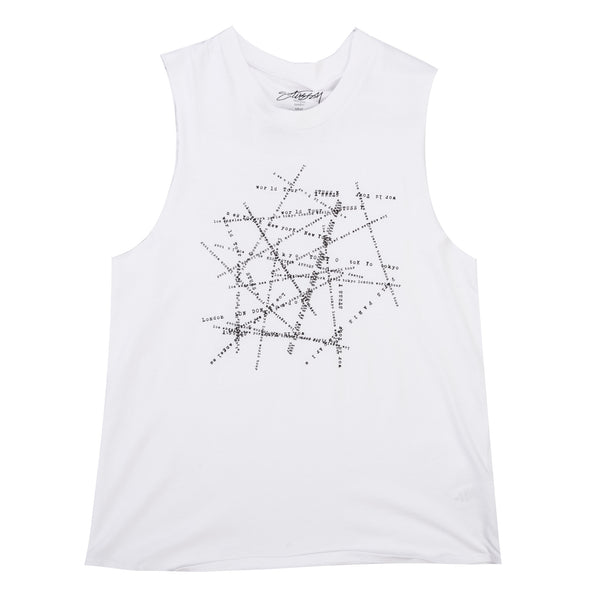 City Intersect Muscle Tee