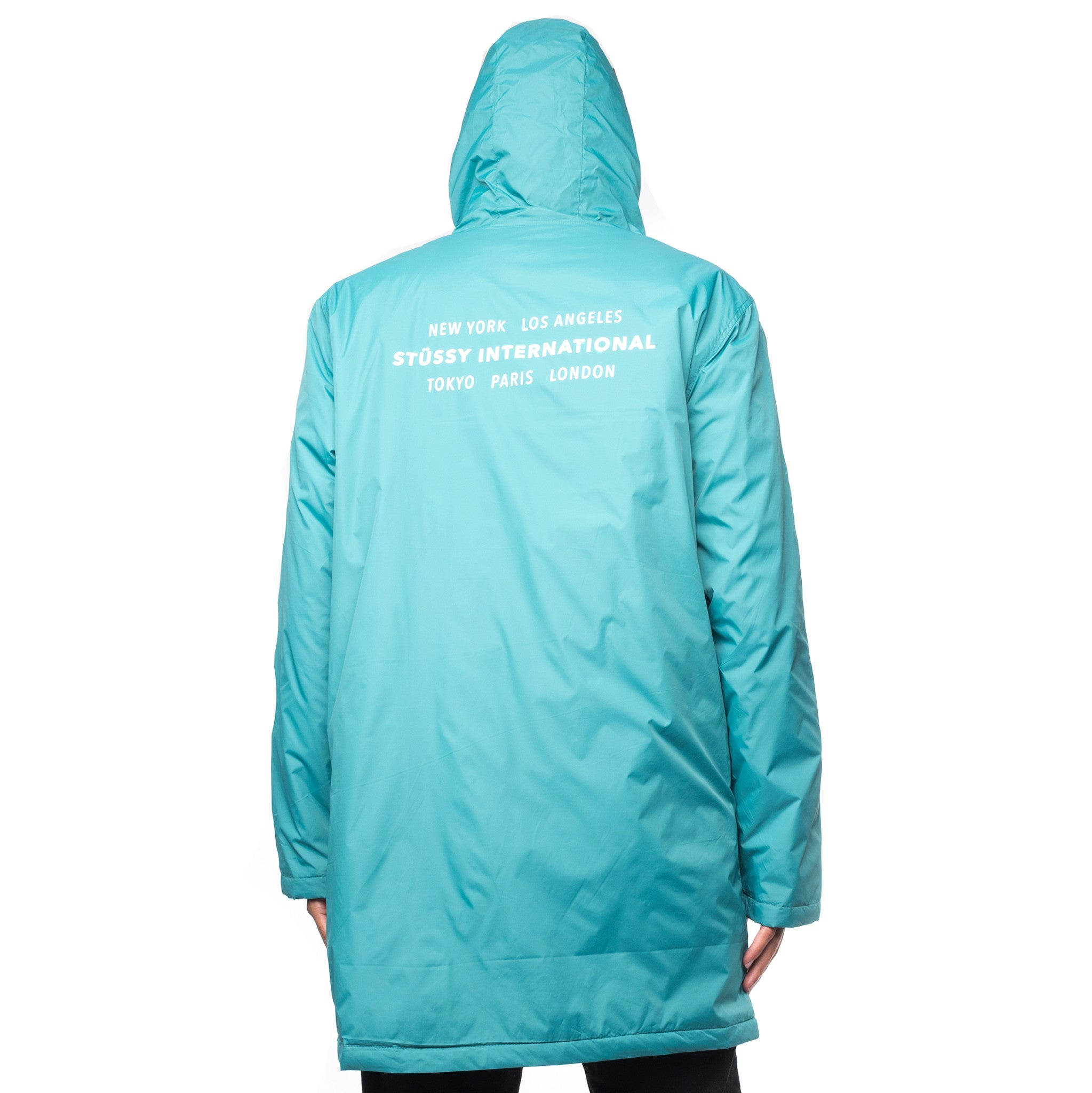 Insulated Long Hooded Coach