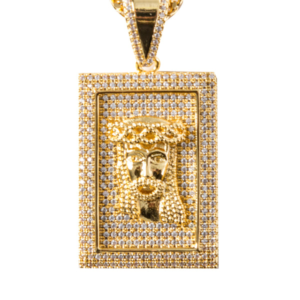 Square Jesus Piece
