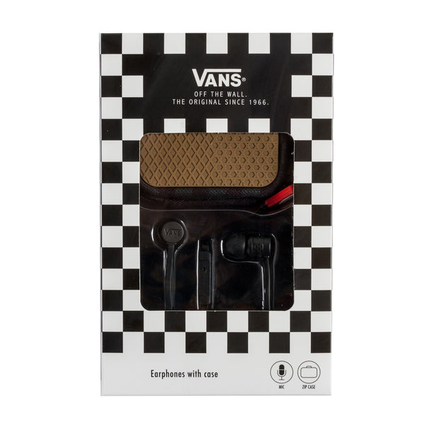 Vans Earphones/Black