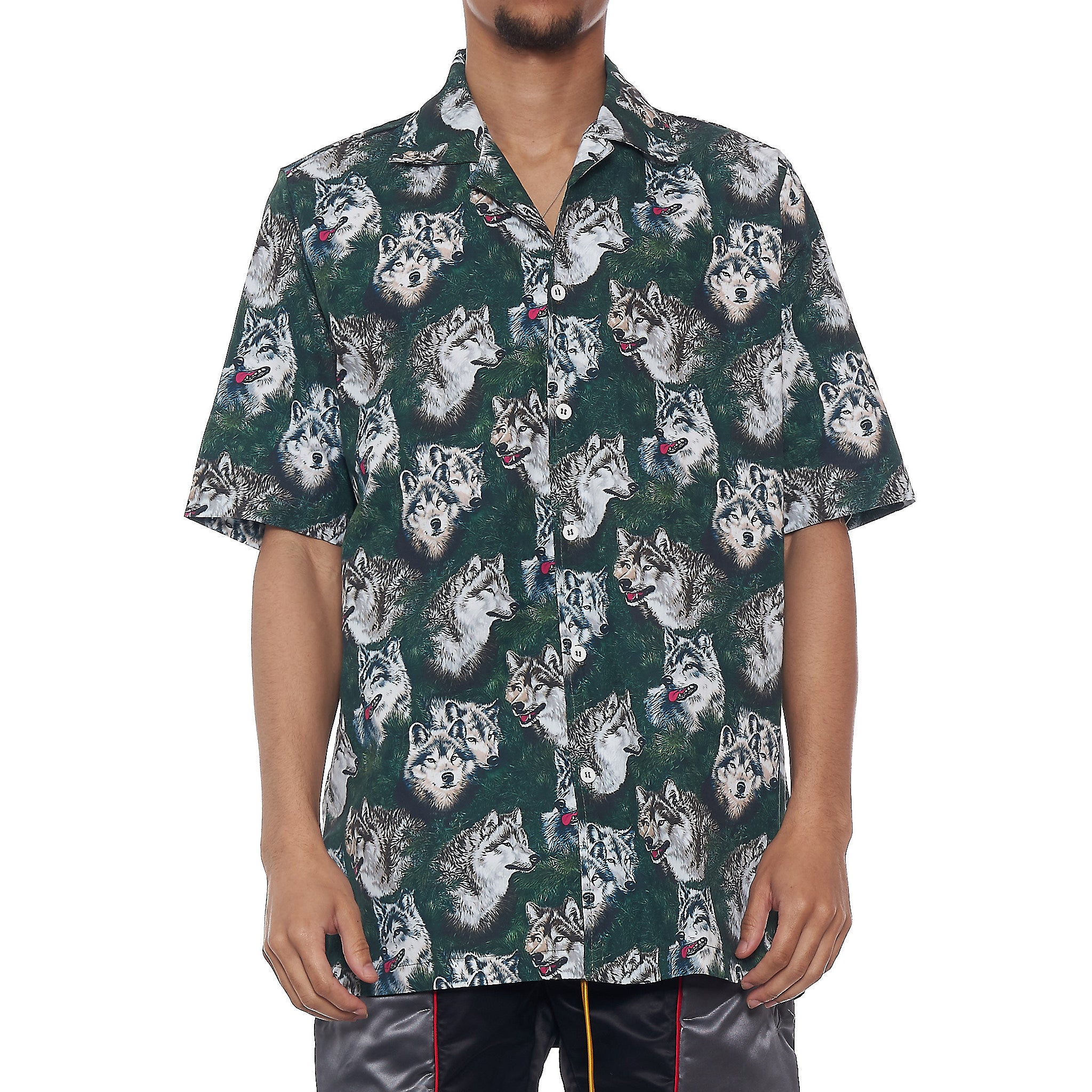 RHUDE WOLF IN PINES SHIRT