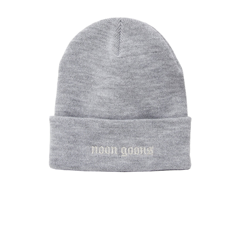 Grey SCHIRIDGE BEANIE