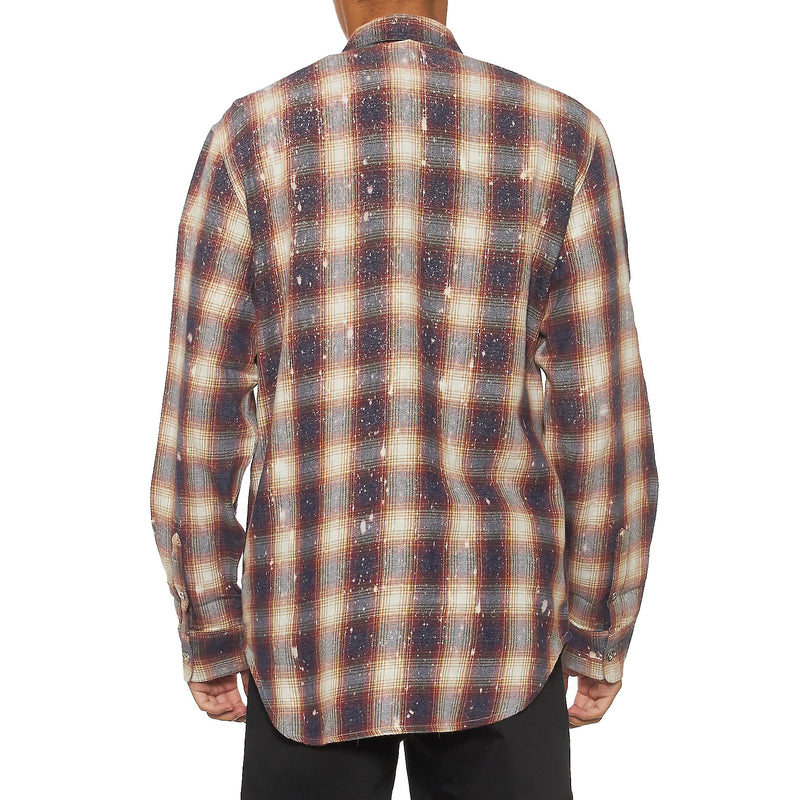 Purple - Brand Flannel Shirt