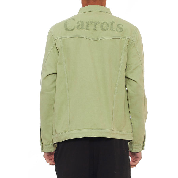 Carrots By Anwar Carrots Wordmark Denim Jacket
