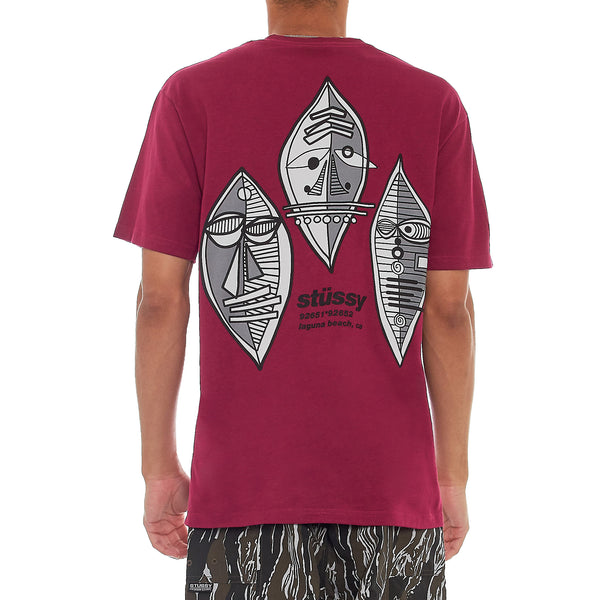 Stussy Deluxe Triple Mask T-Shirt
