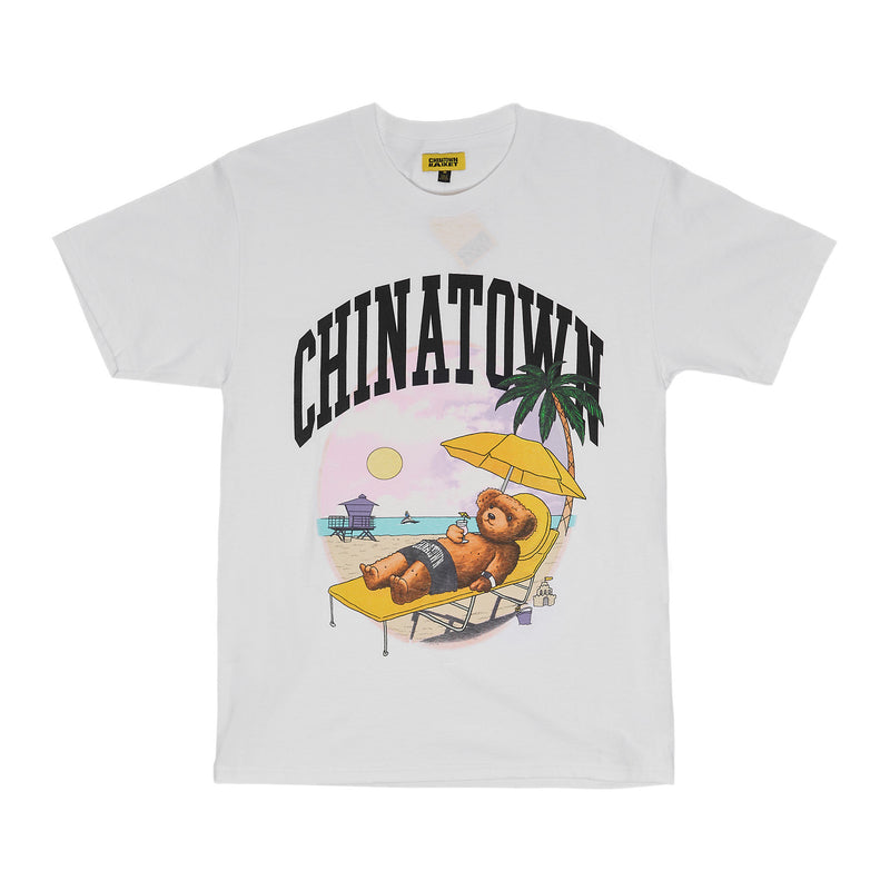 CTM Smiley Beach Bear Tee