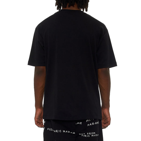 NFPM Black Slogan T-Shirt