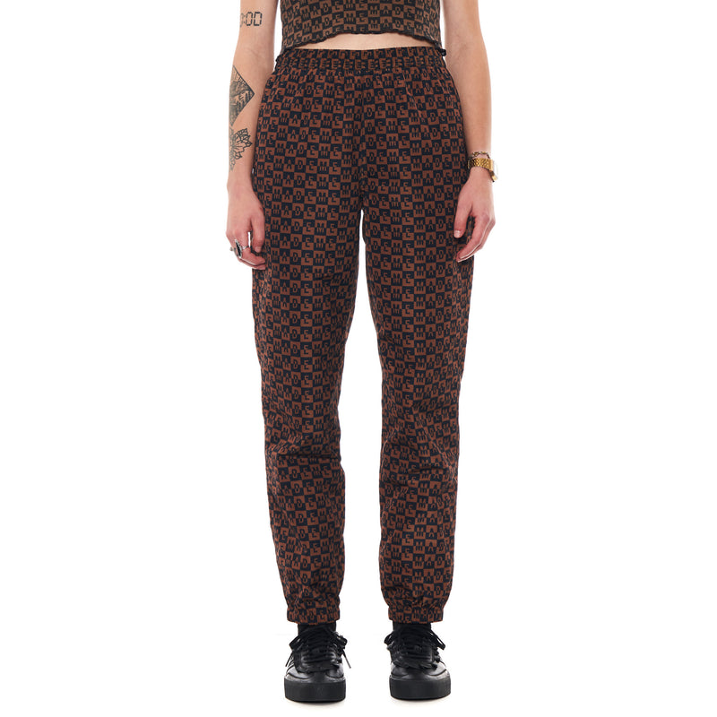 MadeMe Checkered Logo Track Pants