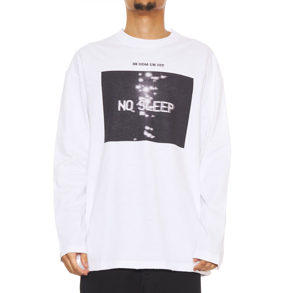 T-SHIRT L/S NO SLEEP