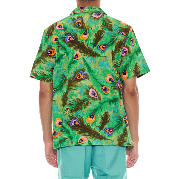 Stussy Deluxe PEACOCK SHIRT