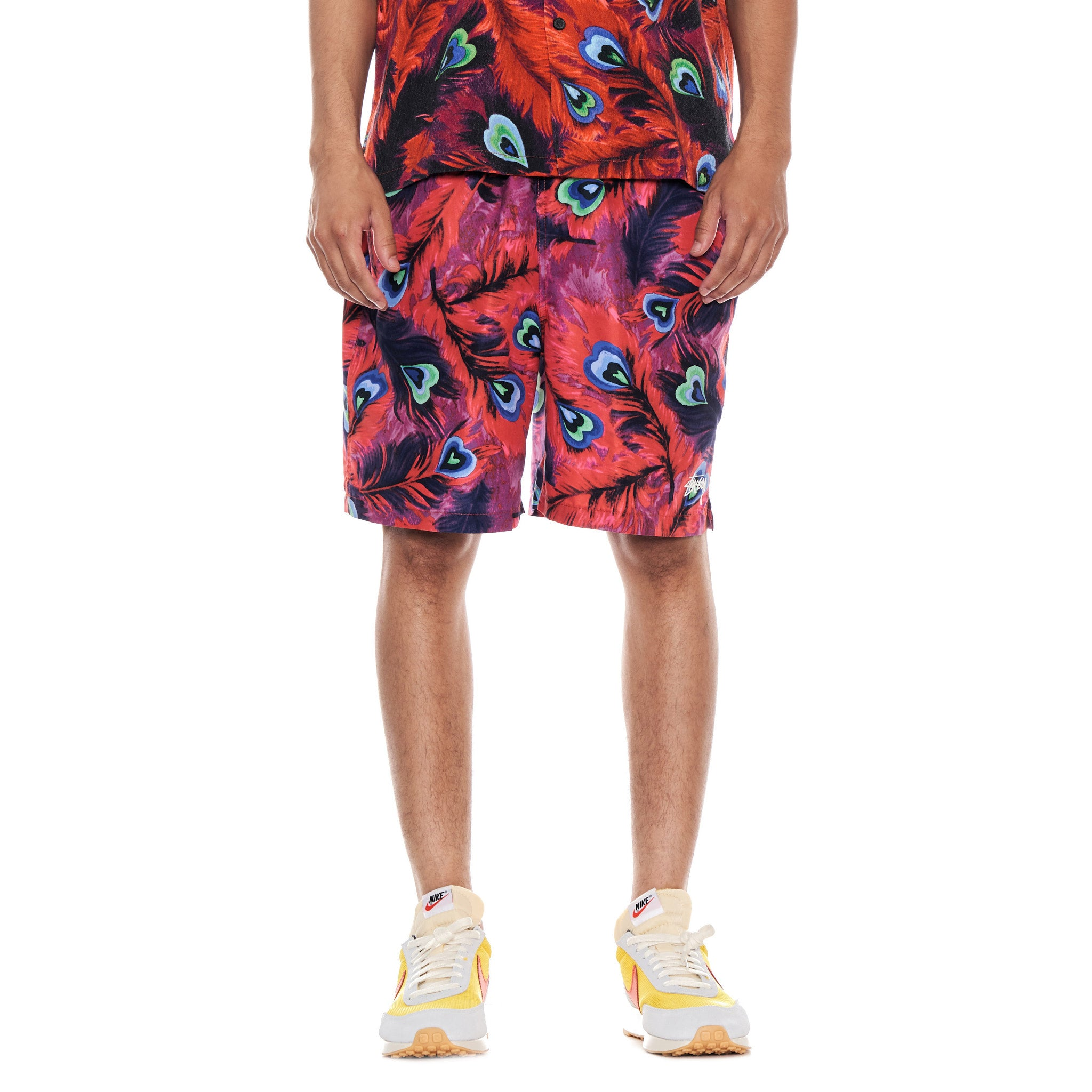 Stussy Deluxe PEACOCK WATER SHORT