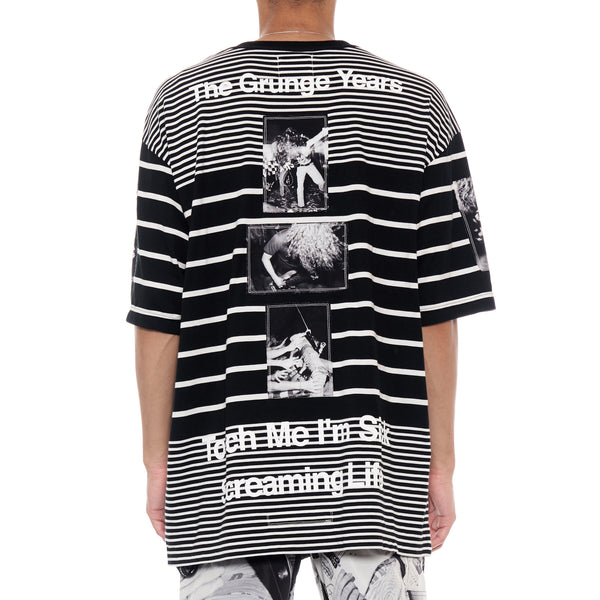 THE SOLOIST STRIPE S/S TEE