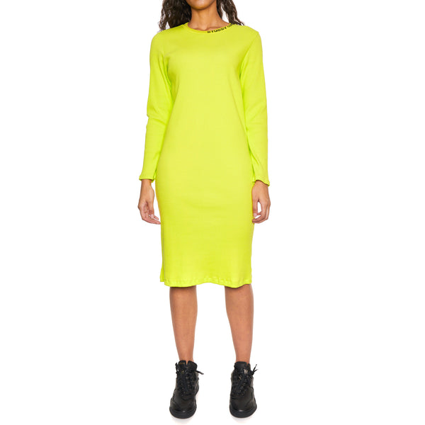 TEMPLE LS RIB DRESS