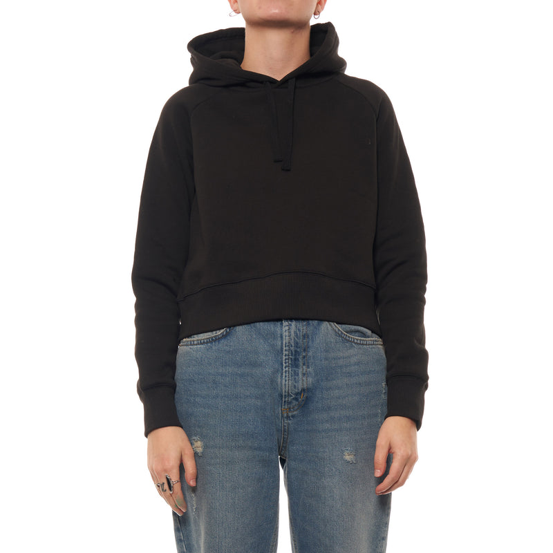 The Crop Hoodie (Black)