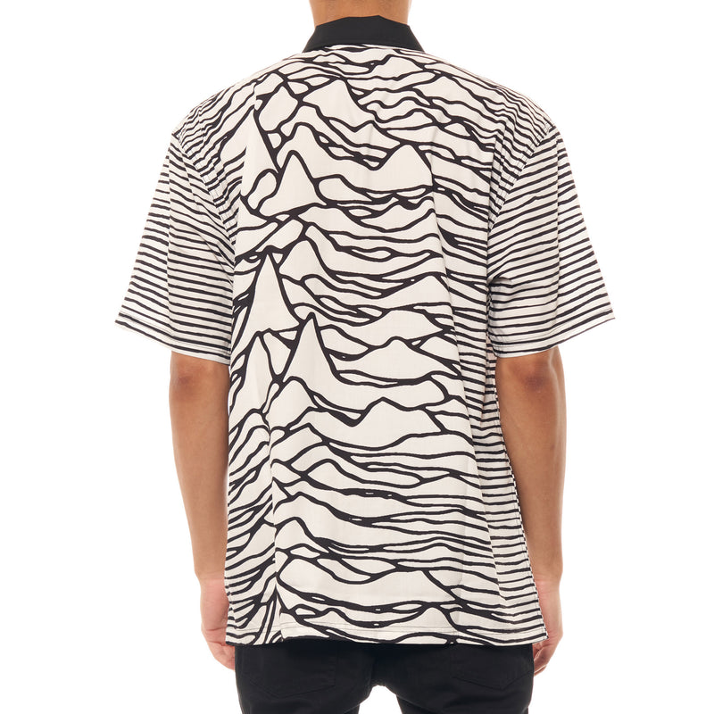 Pleasures x Joy Division Waves Button Shirt