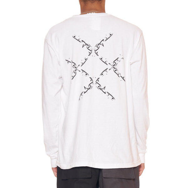 Lucid FC Chain Logo Long Sleeve Shirt