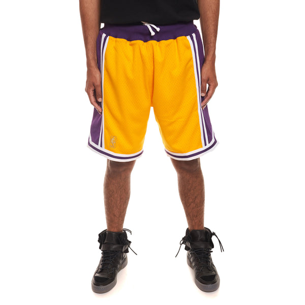 Authentic NBA Shorts LA Lakers