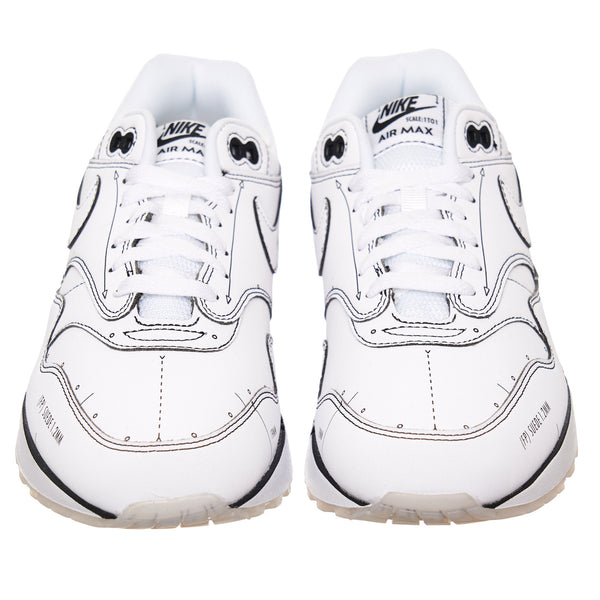 "NIKE AIR MAX 1 Sketch ""White Schematic"""