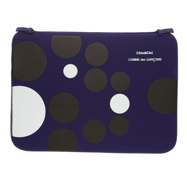Black Dots Macbook Case