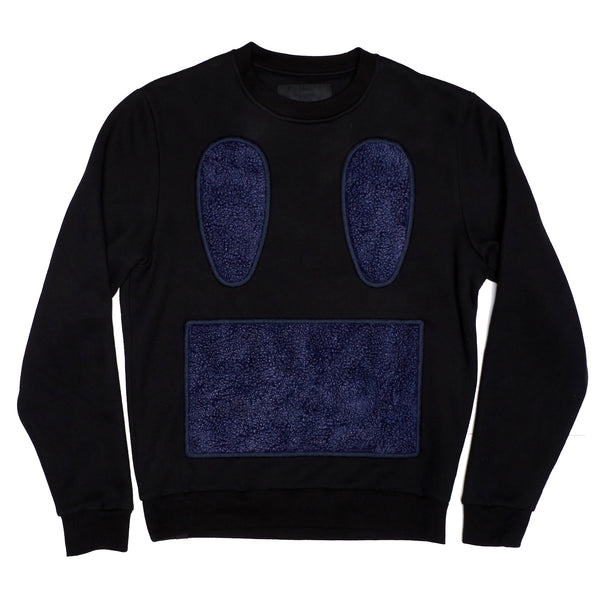 Sherpa Carpet Face Crewneck