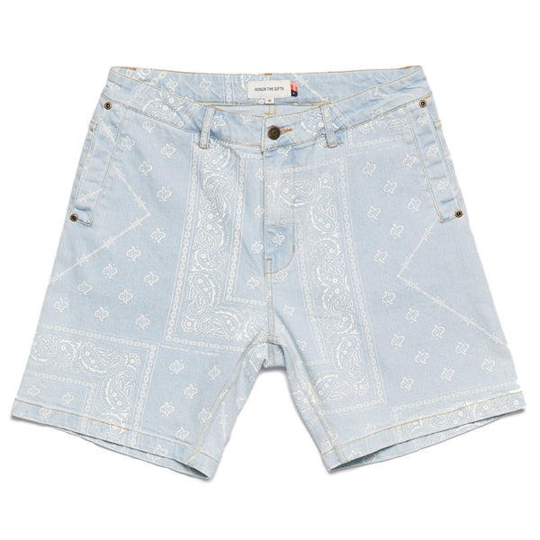 Honor The Gift Bandana Denim Short