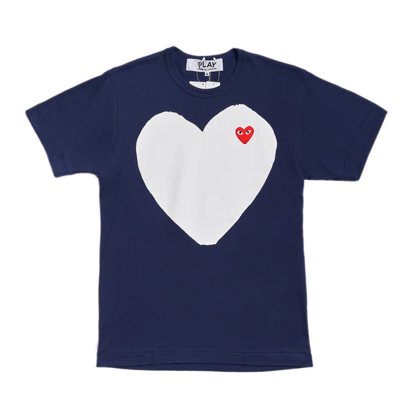 CDG Play Big Heart Tee