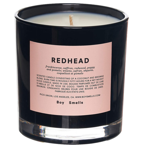 Redhead Candle