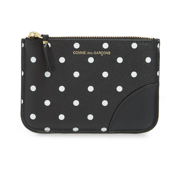 Comme Des Garcons DOTS PRINTED LEATHER