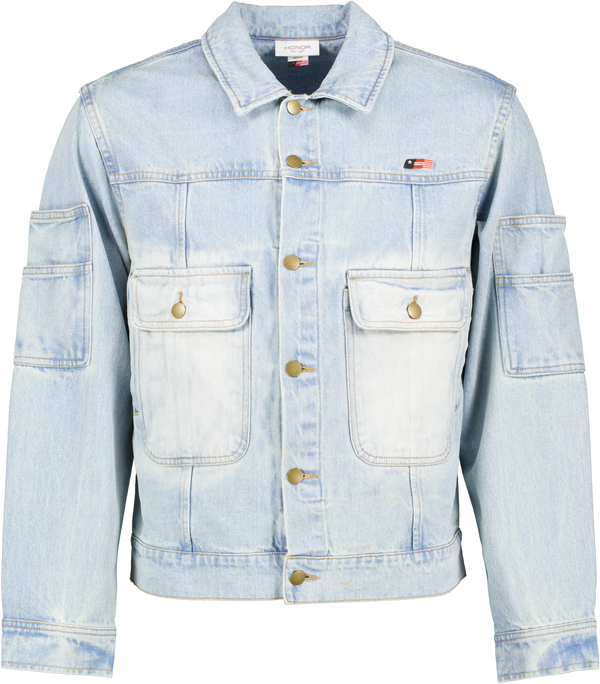 HTG Gridlock Denim Jacket