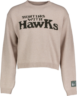 Hunting with Hawks Wool Knit Sweater