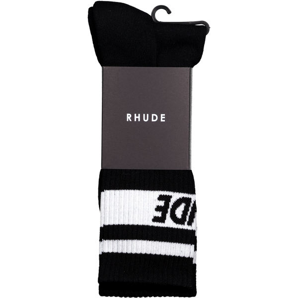 Two Stripe Logo Sock