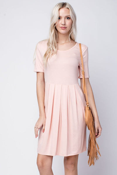 Blushing Rose Tunic Dress