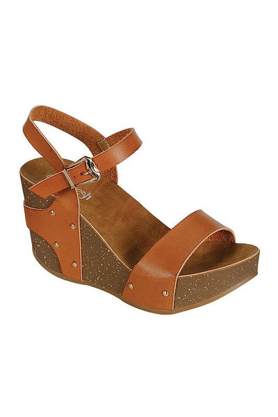 Mara Wedges - Hello Pink Boutique - 1