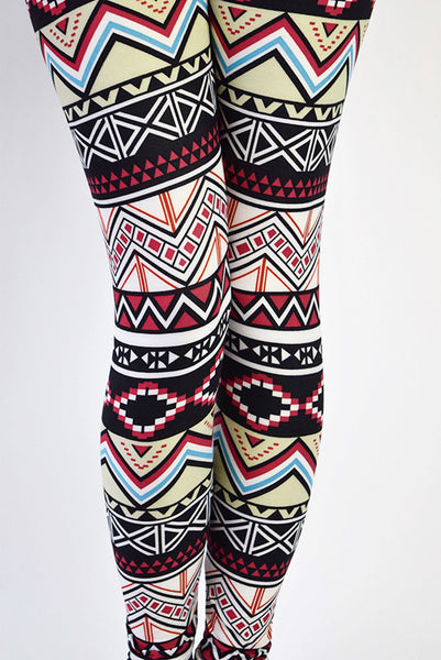 Hello Perfect Leggings | Aztec