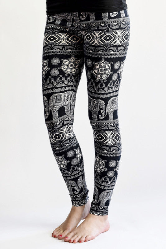Hello Perfect Leggings | Elephant March