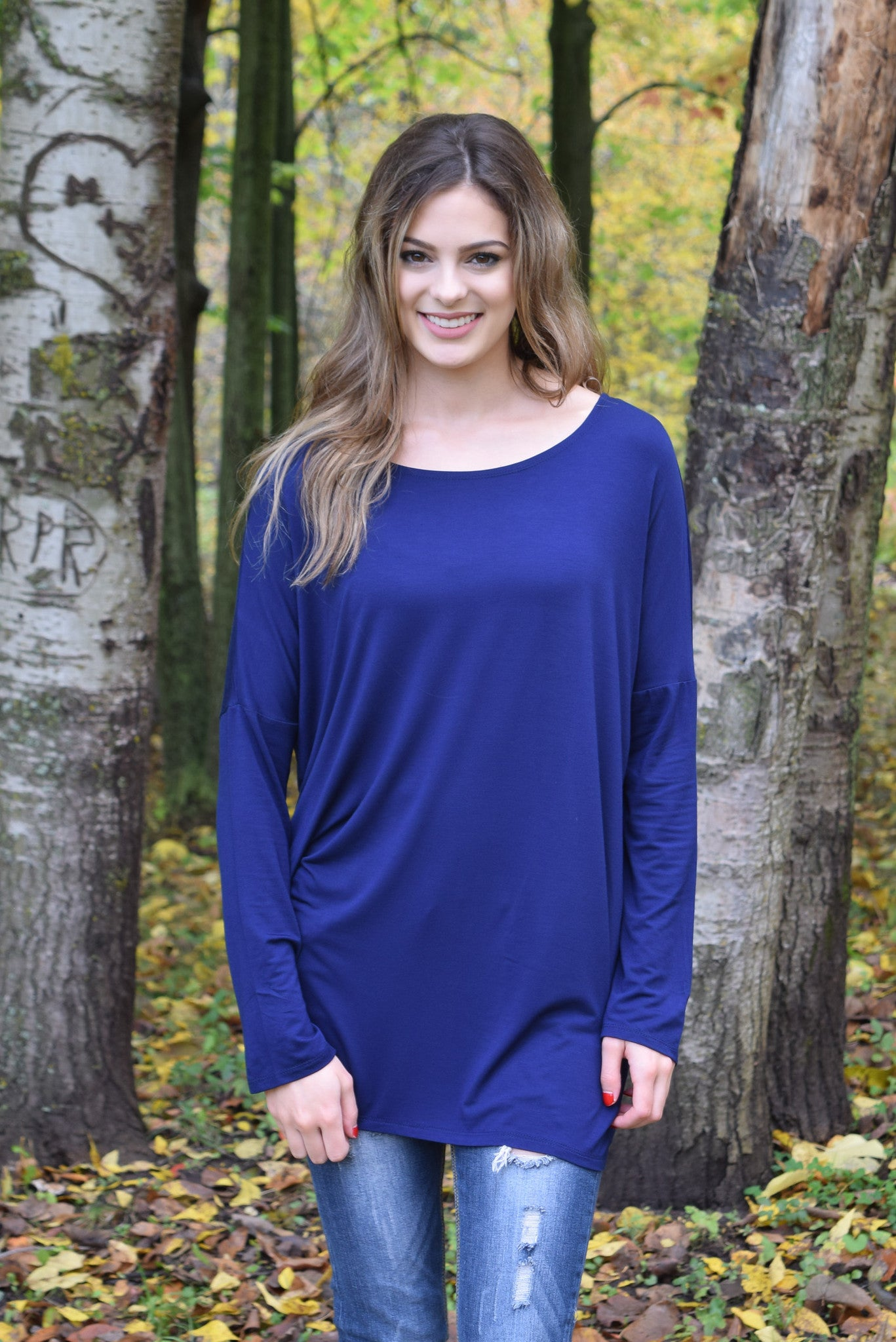 Lux Bamboo Shirt | 5 colors - Hello Pink Boutique - 4