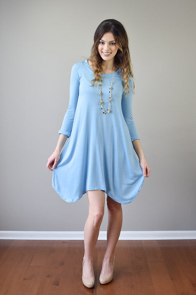 Gwendolyn Spring Dress | Blue