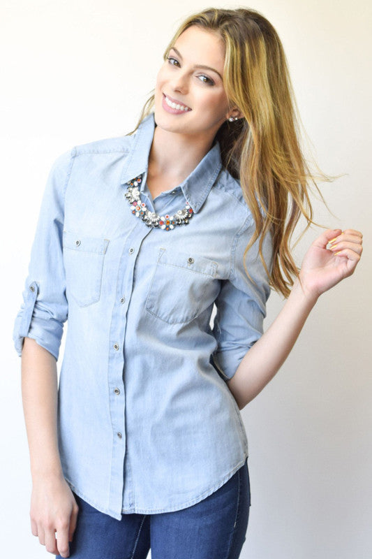 Cheyenne Chambray Shirt