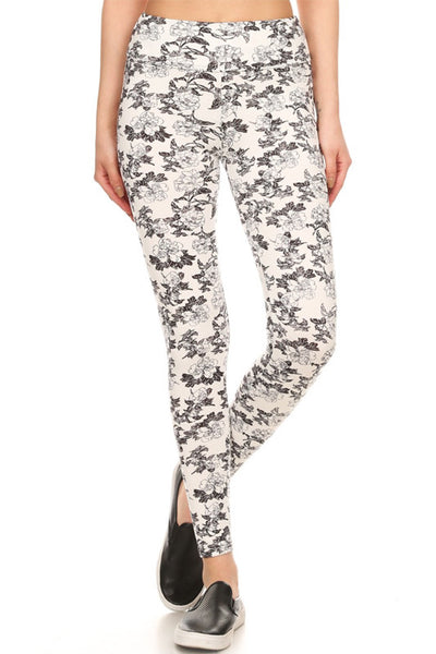 Hello Perfect Leggings | Delicate Flowers