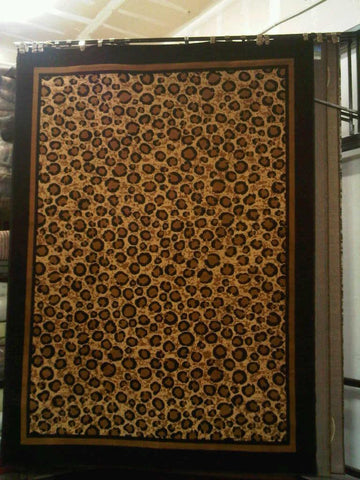 Light Brown Polyester Area Rug Made in Turkey - Intl. Rug Depot