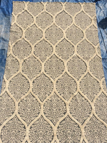 Gray Cotton Area Rug Made in India - Intl. Rug Depot