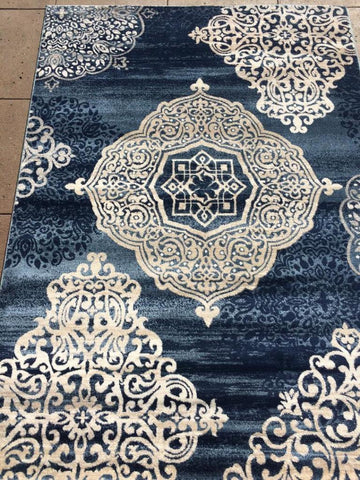 Blue ***** Need Info ***** Area Rug Made in Turkey - Intl. Rug Depot