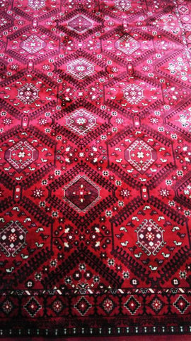 Red Art Silk Viscose Area Rug Made in Turkey - Intl. Rug Depot