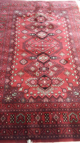 Red Art Silk Area Rug Made in Turkey - Intl. Rug Depot